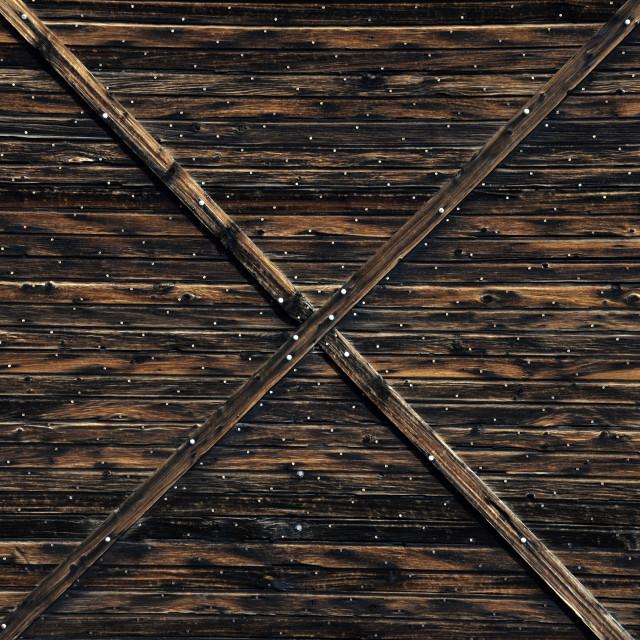 """""""Barn door"""" stock image"""