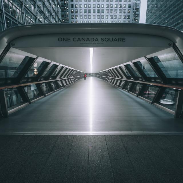 """One Square Square, London"" stock image"