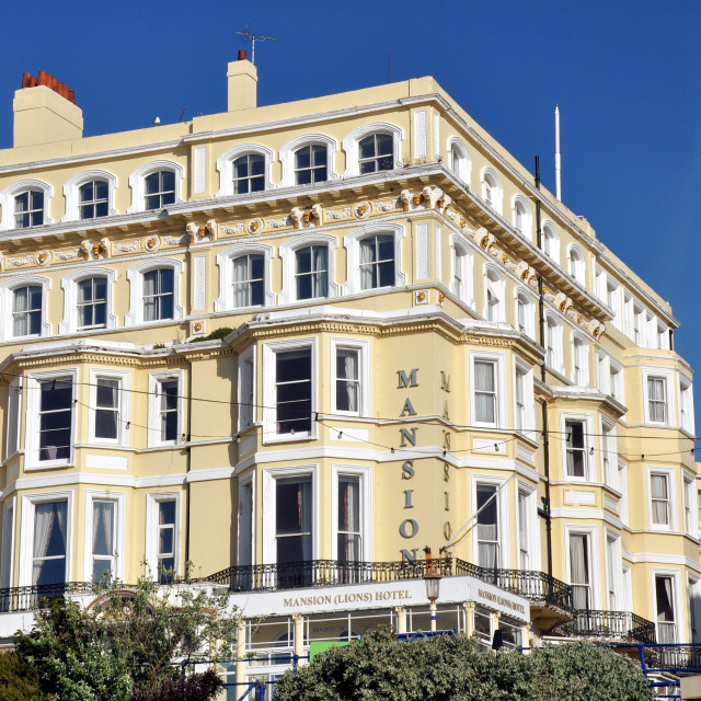 """""""Chatsworth Hotel_Eastbourne"""" stock image"""