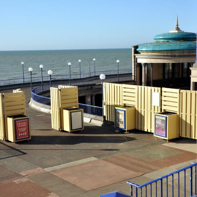 """""""bandstand, eastbourne"""" stock image"""
