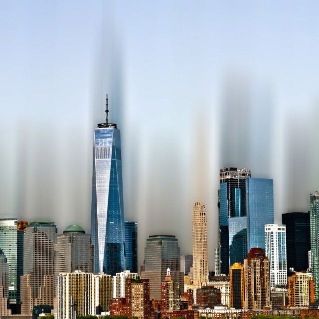 """""""New York The City of Dreams"""" stock image"""
