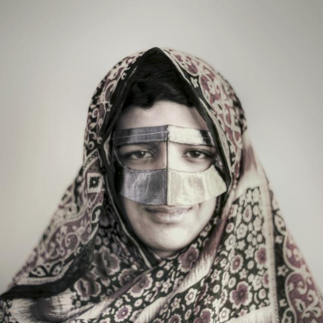"""Burqa"" stock image"