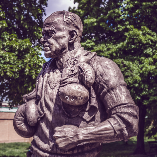 """Feliks Stamm Statue"" stock image"