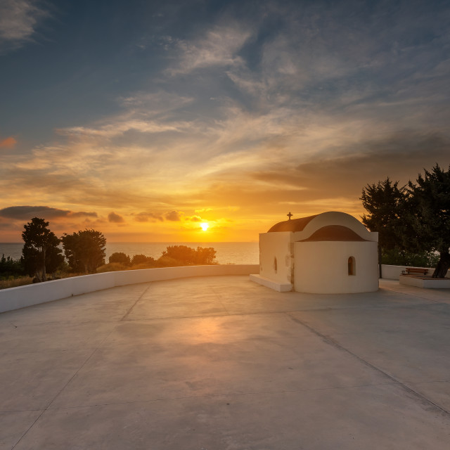 """Saint Ioannis Kos island Greece"" stock image"