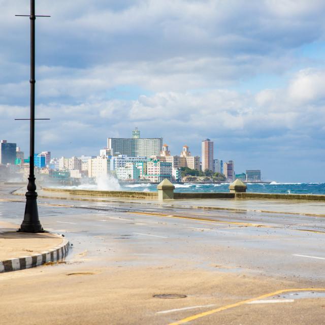 """Malecón - Havana"" stock image"