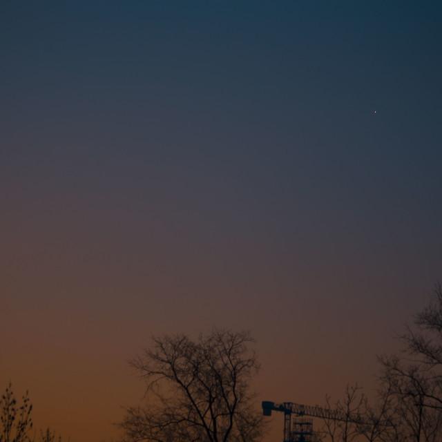 """""""Before Sunrise"""" stock image"""
