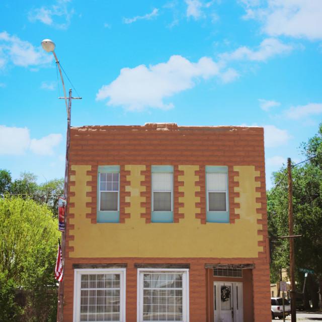 """Estancia, New Mexico"" stock image"