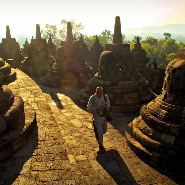 """Borobudur"" stock image"