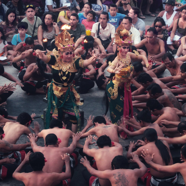 """Kecak, Bali"" stock image"