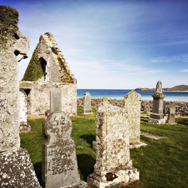 """Balnakeil Church, Durness Scotland"" stock image"