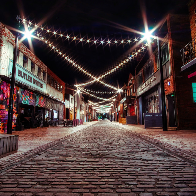 """Humber street"" stock image"