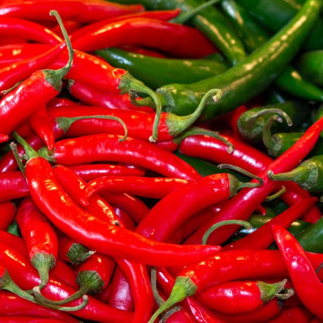"""Hot pepper"" stock image"