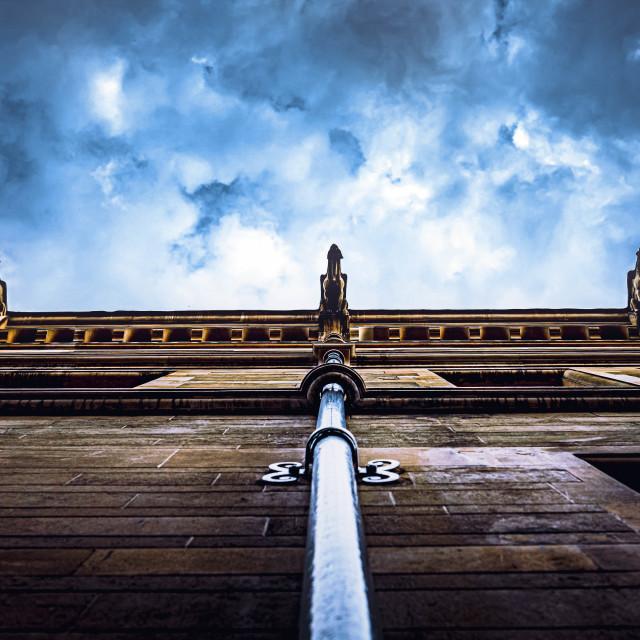 """Gonville & Caius College , University of Cambridge UK."" stock image"