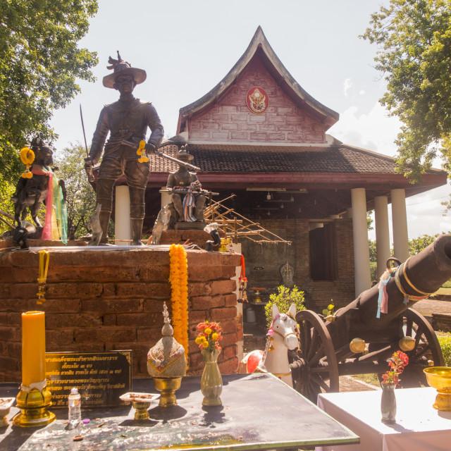 """THAILAND TAK TAKSIN HILL WAT DOI KHOI KHOO KAEO"" stock image"