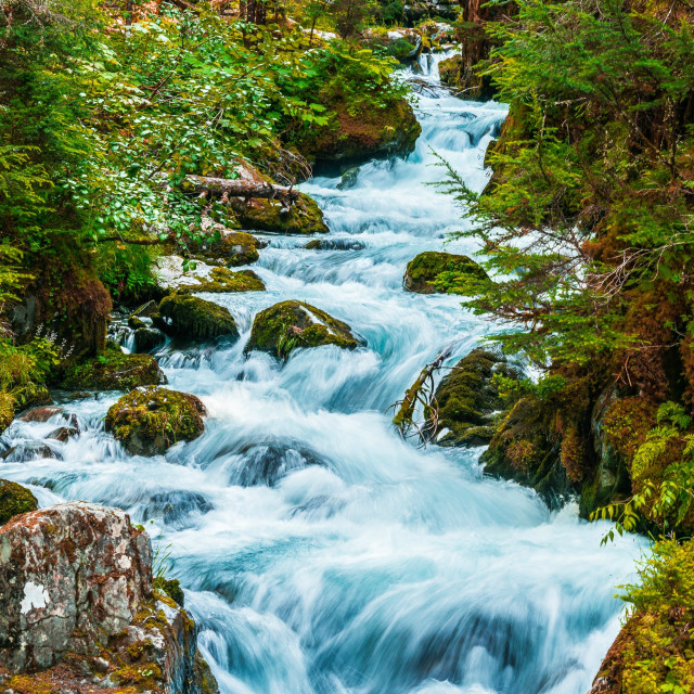 """Virgin Creek"" stock image"