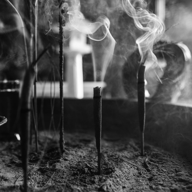 """""""Incense"""" stock image"""