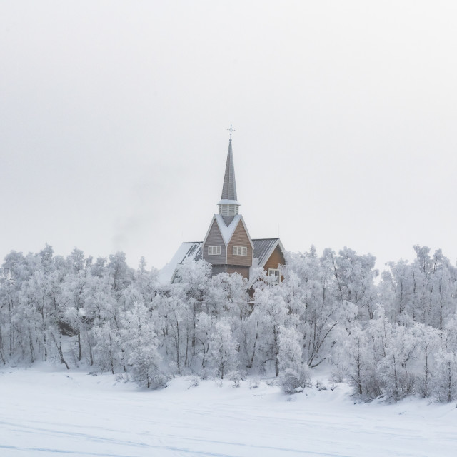 """A view from Finland into Sweden"" stock image"
