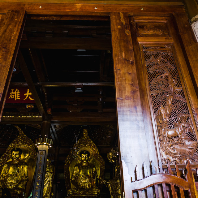 """""""South Putuo Temple"""" stock image"""