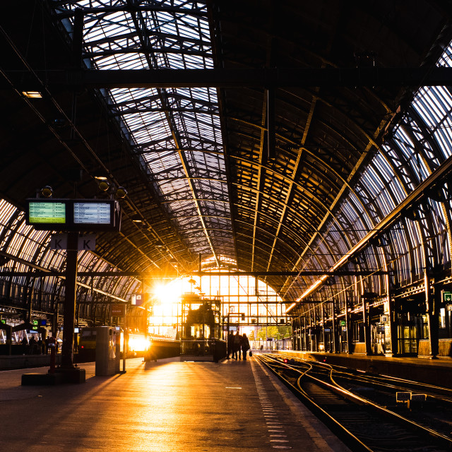 """""""Amsterdam Centraal"""" stock image"""