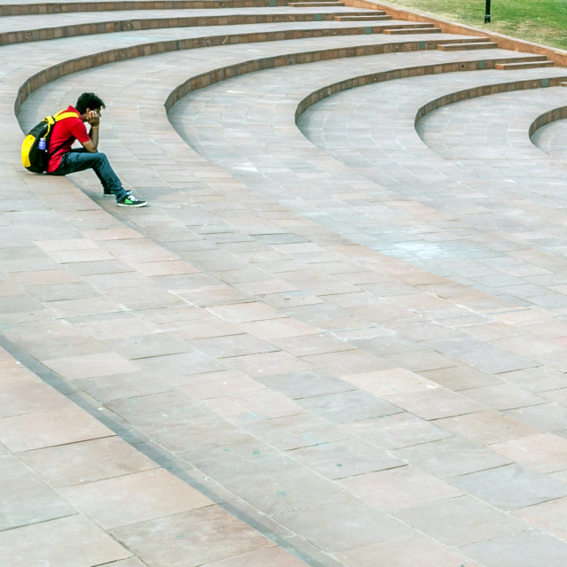 """""""Connaught Place Central Park"""" stock image"""