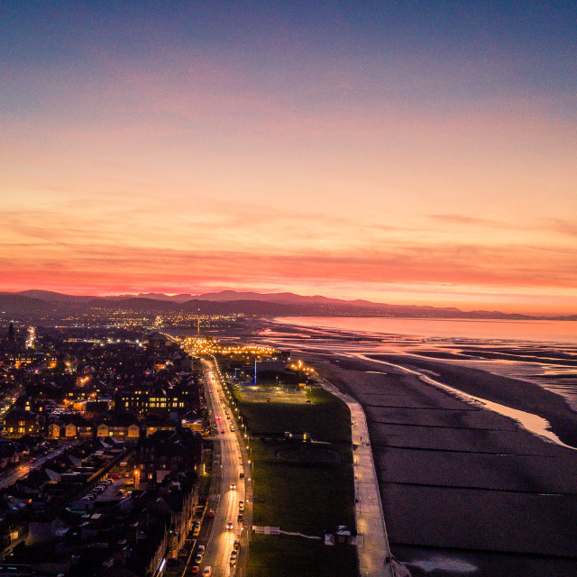 """""""Goodnight North Wales"""" stock image"""