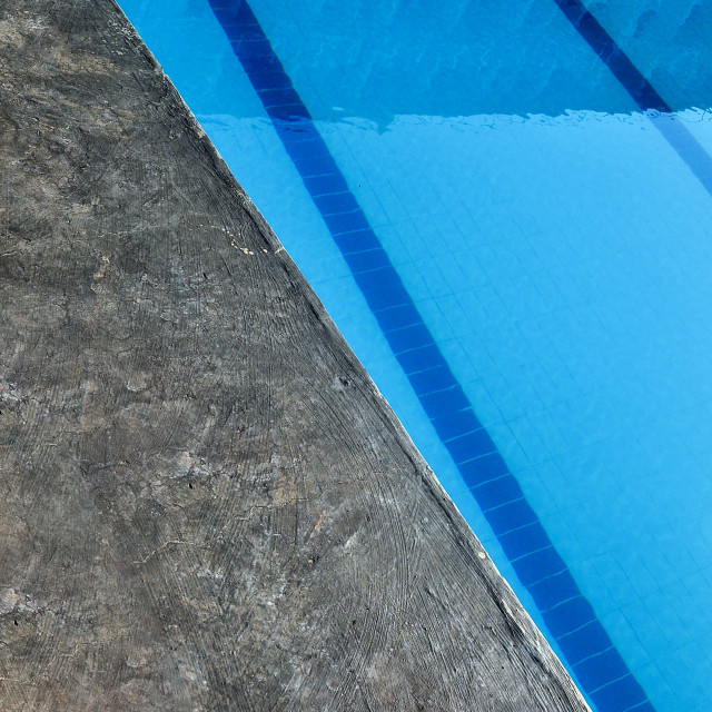 """""""A Swimming Pool"""" stock image"""