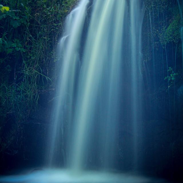 """Blow Gill waterfall"" stock image"