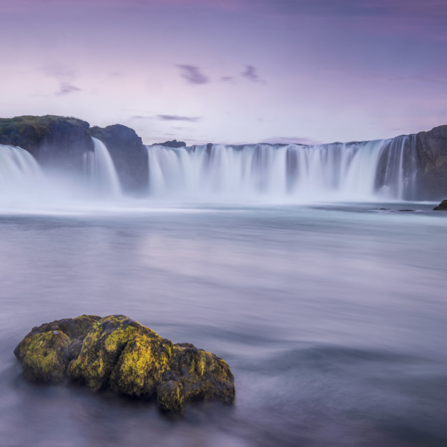 """The waterfall of the gods"" stock image"