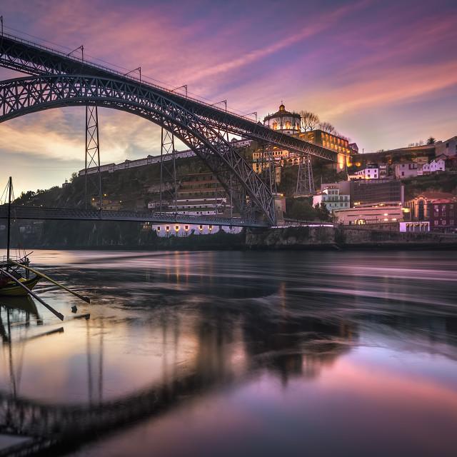 """""""Oporto awakening"""" stock image"""