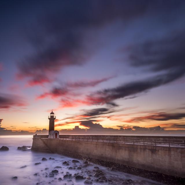 """Lighthouse light"" stock image"