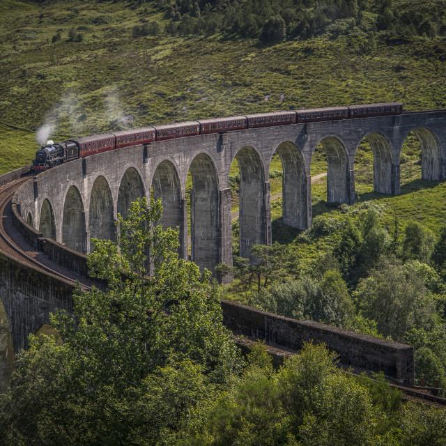 """""""To Hogwarts"""" stock image"""