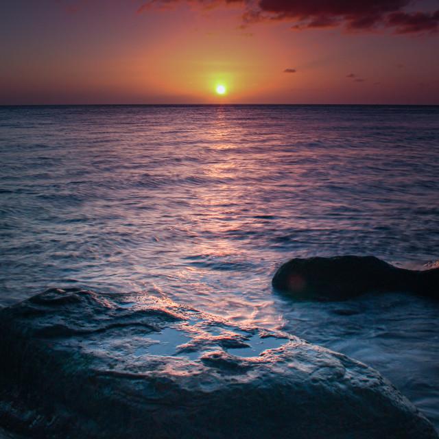 """Saltwick sunrise"" stock image"