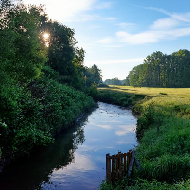 """""""Yvette river"""" stock image"""