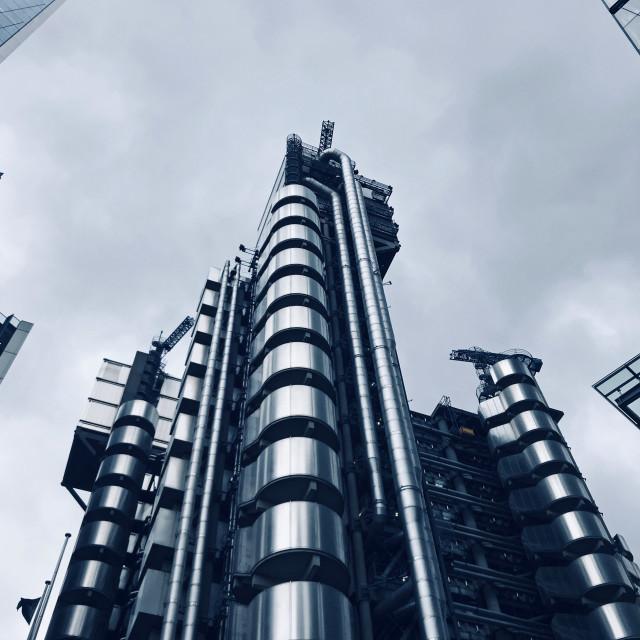 """Lloyds of London Building"" stock image"