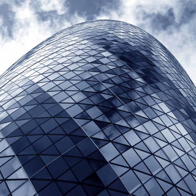 """""""The Gherkin"""" stock image"""