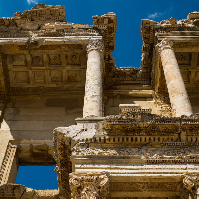 """""""Library of Celsus"""" stock image"""