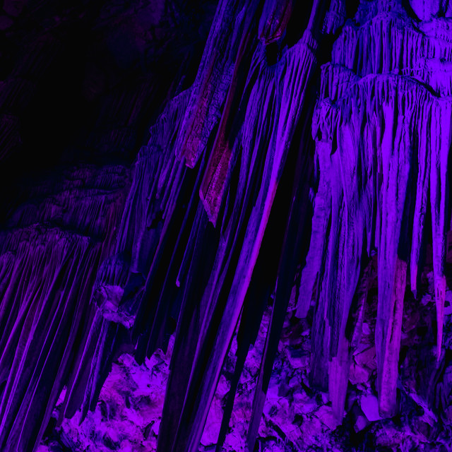 """""""St. Michael's Cave"""" stock image"""