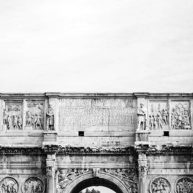 """""""Arch of Constantine"""" stock image"""