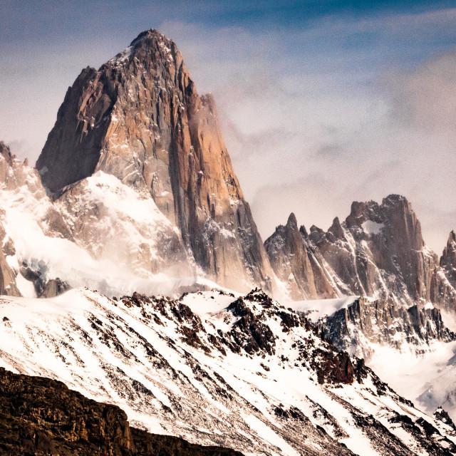 """Patagonia - Fitz Roy"" stock image"
