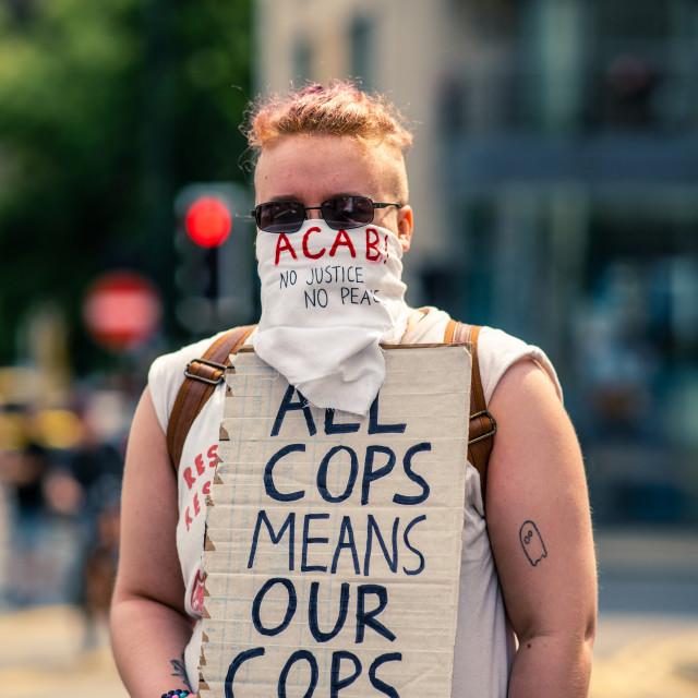 """Cops"" stock image"