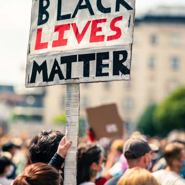 """Black Lives Matter 2.0"" stock image"