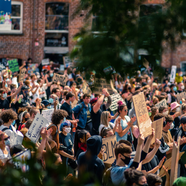 """BLM Crowd 2.0"" stock image"