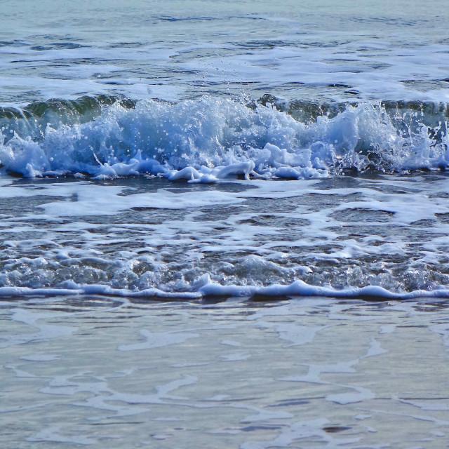 """Incoming Sea"" stock image"