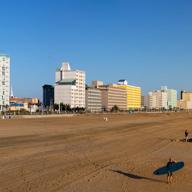 """""""Virginia Beach"""" stock image"""