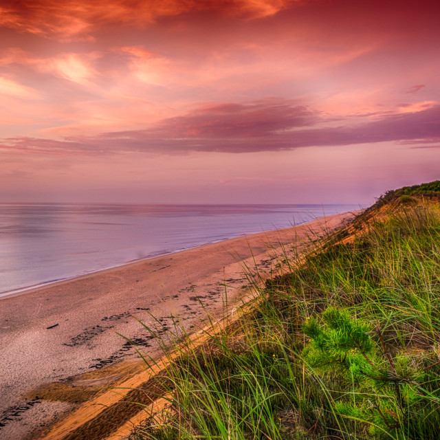 """""""Sunrise at Whitecrest"""" stock image"""