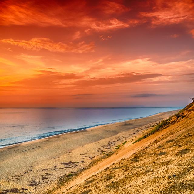 """August Sunrise"" stock image"