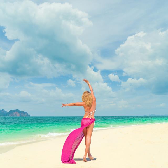 """summer holiday travel"" stock image"