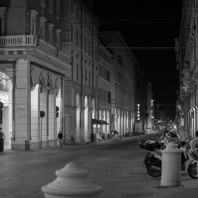 """""""Bolo by Night BW"""" stock image"""