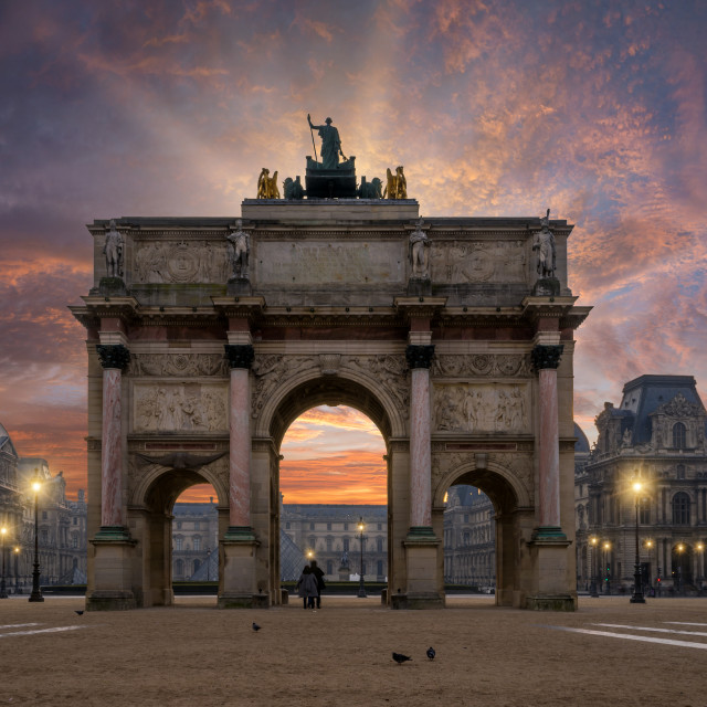 """""""The city of Paris france"""" stock image"""