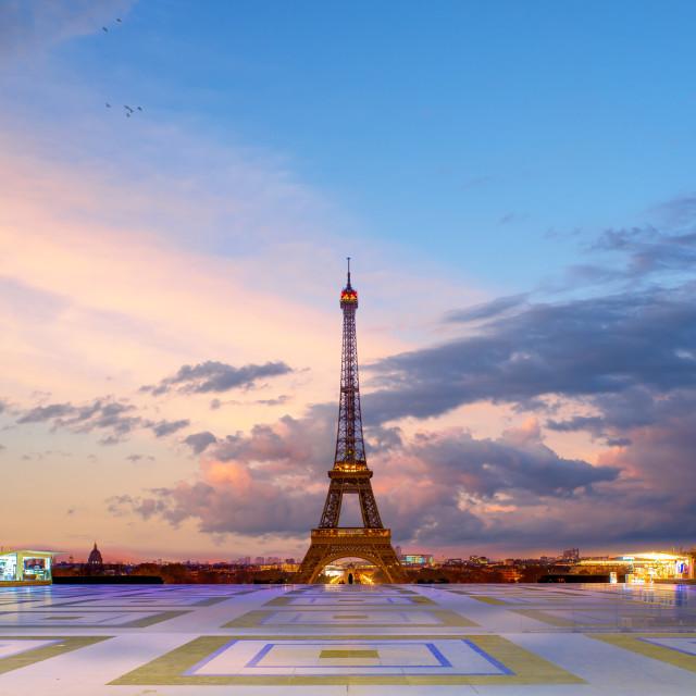"""Tracadero square in Paris"" stock image"